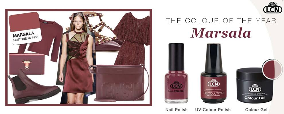 2015 Color of the Year – Marsala!