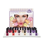 "Display Nail Polish ""Candy Shop"" 16ml  nail polish, extended wear polish, top coats, nails, nail art, essie, opi, color gel, hard gel"