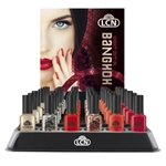 "Display Nail Polish ""Night Out in Bangkok"" nail polish, extended wear polish, top coats, nails, nail art, essie, opi, color gel, hard gel"