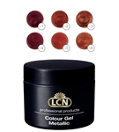 Colour Gel Metallic Set