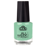 All Week Long - envy me jade nail polish, extended wear polish, top coats, nails, nail art