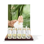 SPA Nail Therapy Displays