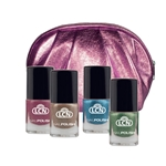 "Mirror ""Metallic"" Nail Polish Set"
