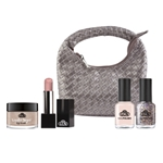 "Makeup Set ""La Belle Vie"" makeup, trend set, spring colors, lipstick, nail polish, lip scrub"